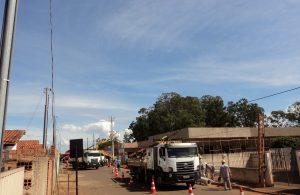 Energia Elétrica chegando na Casa de Repouso de Lagoa Formosa