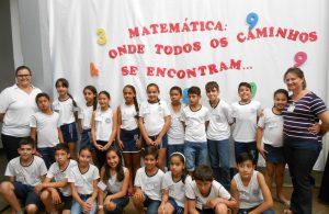 Projeto de Matemática movimenta alunos do 5º ano da E.M. Alzira Borges