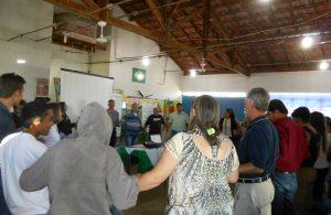 Reunião discute a implantação do Grupo Amor Exigente em Lagoa Formosa