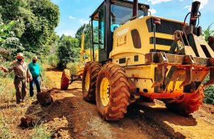 Prefeitura de Lagoa Formosa intensifica os trabalhos de recuperação das Estradas Rurais