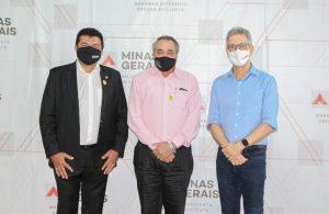 Edson Machado – Didi, participou de  importante reunião com o governador de Minas Romeu Zema