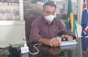 Edson Machado - Didi participa on line de mais uma reunião com os prefeitos de nossa região