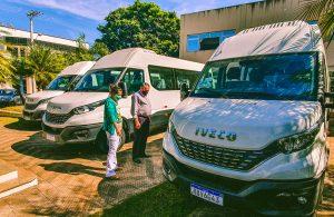 Transporte Escolar de Lagoa Formosa ganha reforço de mais três Vans
