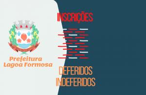 ATENÇÃO: ATUALIZAÇÃO DA LISTA DOS PROCESSOS INDEFERIDOS E DEFERIDOS DE ISENÇÃO DE IPTU