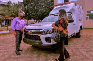 Prefeitura de Lagoa Formosa adquire mais uma ambulância para compor a frota de veículos da Secretaria de Saúde